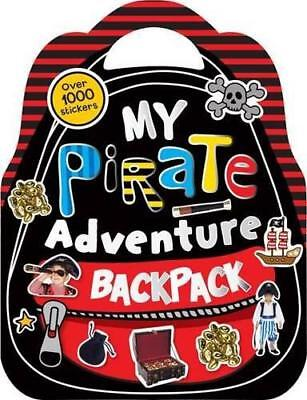 Shaped Sticker Books: My Pirate Adventure Backpack,  | Paperback Book | 97817823