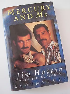 Freddie  ' Mercury And Me '  1994 Biography Hardback Book Jim Hutton (Queen)
