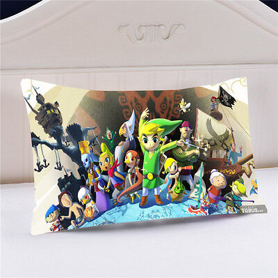The Legend Of Zelda Anime Characters 60*30CM Pillow Case #40370