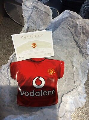 Manchester United The Shirt Of Champions Plate