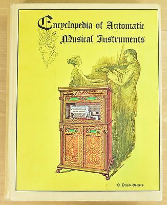 CH# Buch: AUTOMATIC MUSICAL INSTRUMENTS - Spieluhr Musikautomat Organette Piano