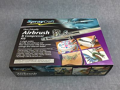 Spraycraft Airbrush and Compressor Kit