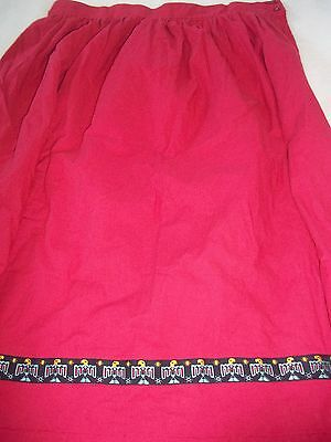 Ladie's Long Cotton Skirt, Great for Theater, Reenactment Size 1 X, Homemade