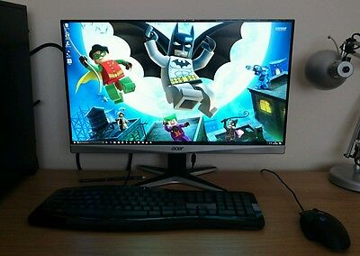 Acer G247HYU 24 inch LED IPS Monitor - 2560 x 1440