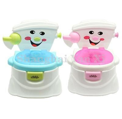 Cute Toys Baby Toddler Child Toilet Seat Potty Trainer Urinal Seat Chair