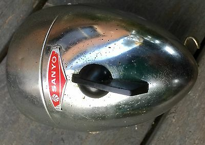Vintage Sanyo Bicycle Head Lamp For Dragster 1970S