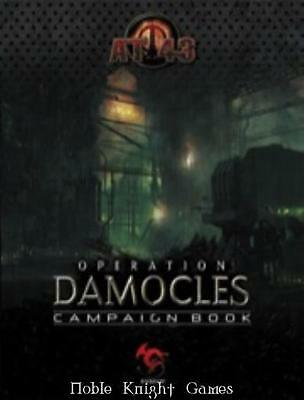 Rackham AT-43 Operation Damocles Campaign Book SC NM-