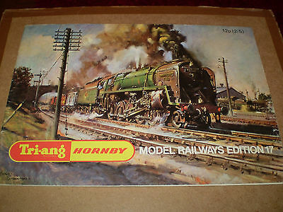 TRIANG/HORNBY MODEL RAILWAYS TOY CATALOGUE 1971 17th EDITION EXCELLENT FOR AGE