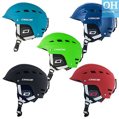 Dirty Dog UFO Ski Helmet Snow Adult Mens Ladies Ski Skiing Snowboard Blue Green