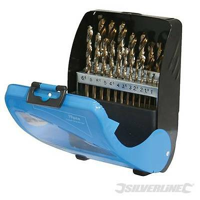Cobalt Drill Bit Set For Drilling Cast Iron Stainless Steel 19Pc Ultra Hard 5%