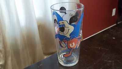 "Promo 1970's ""UNDERDOG""  Vintage Collectible Glass Leonard TTV Looking to left"