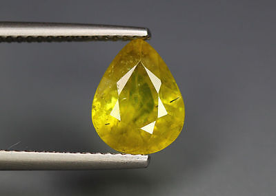 2.57 Cts_Simmering Ultra Nice Color Gemstone_100 % Natural Titanite Sphene