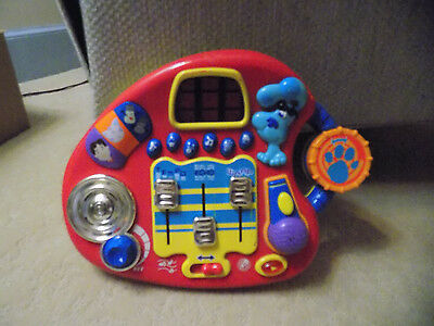 Blues Clues MIXIN MUSIC STUDIO Musical Talking Steve Toy w/ lights sound 2001 35