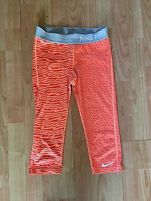 Nike Pro Girls Capri Leggings Age 12 - 13