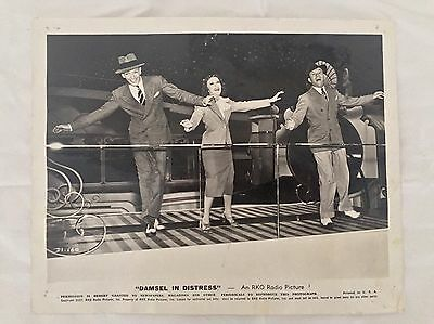Damsel In Distress Fred Astaire George Burns Gracie Allen 1937