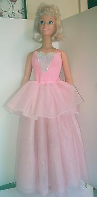 "My Size Barbie Ballerina Doll Pink Wear n Share Costume 36""  Blonde"