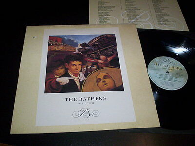 "The Bathers ‎""Sweet Deceit"" LP insert Island Records ‎– C.G.T. 1-1 Uk 1990"
