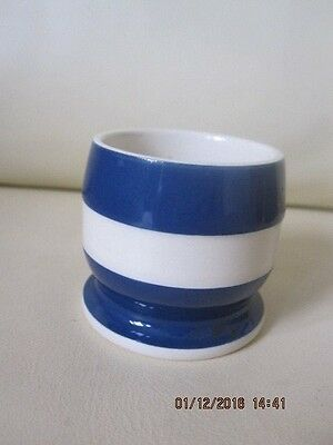 Vintage T G Green Cornish Ware Navy Blue Eggcup