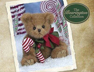 "Pippy Peppermint 10"" Christmas Bear - Bearington Collection"