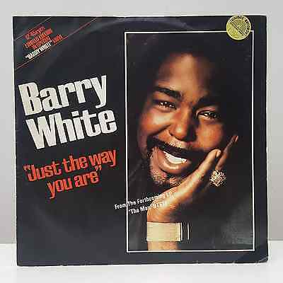 """Barry White - Just The Way You Are - 12"""" White Vinyl Single"""