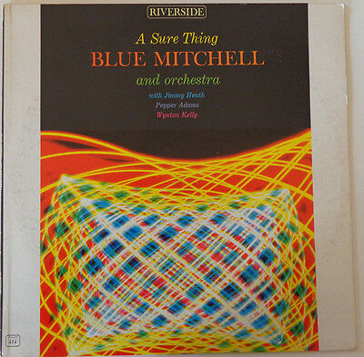 BLUE MITCHELL and his Orchestra: A Sure Thing - RIVERSIDE  RLP 414 (mono) (DG)