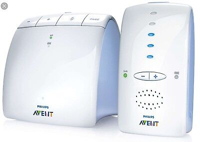 Avent Philps Baby Monitor Interfono Radioline Dect