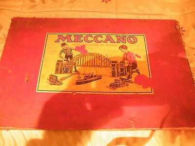 vintage blue and gold meccano
