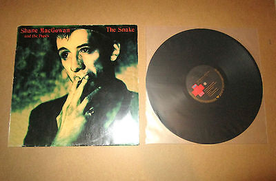 FREE SHIP! Shane MacGowan and the Popes The Snake ORG First Press 1994 LP