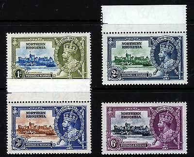 NORTHERN RHODESIA KG V 1935 Silver Jubilee Set SG 18 to SG 21 MINT