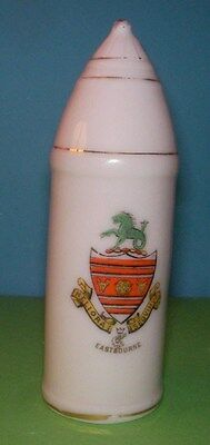 Crested China WW1 Shell Eastbourne Crest