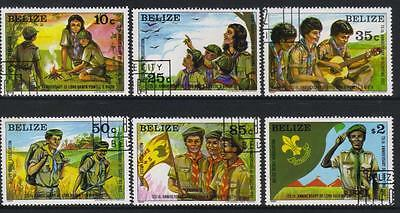 BELIZE 1982 125th ANNIV BIRTH LORD BADEN-POWELL USED