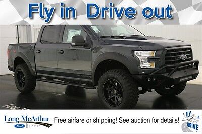 2016 Ford F-150 BAJA COMPARABLE TO A 2017 RAPTOR AND SHELBY F-150 LIFTED FOX SHOCKS WIDE BODY WITH NAVIGATION LEATHER MOONROOF