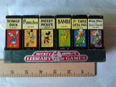 Mickey Mouse Library Of Games Set