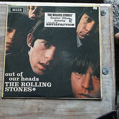 The Rolling Stones - Out Of Our Heads - 1965 Decca Lk.4733 - Mono