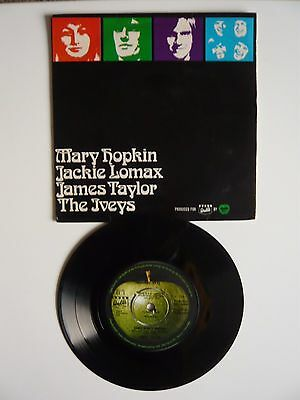 "The Beatles Apple Label Walls Ice Cream 1969 Extended Player EP 7"" Single Vinyl"