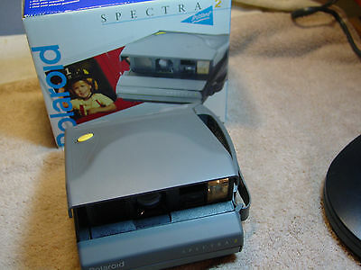 Vintage Polaroid Spectra 2 Instant Camera with Original Box Made in UK
