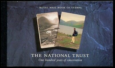 Great Britain Scott #BK160 MNH The National Trust BOOKLET CV$40+
