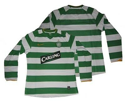 Celtic Glasgow Jersey Home 2008/10 Player Issue Nike XL Shirt