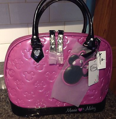 Minnie Loves Mickey Bowling Bag Style Handbag, Limited Edition Park Exclusive!!!