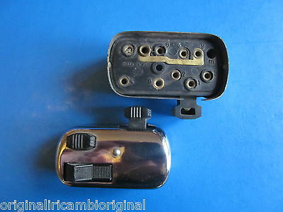 Vespa Ape C 1962  handlebar Chrome Light Switch  N.O.S