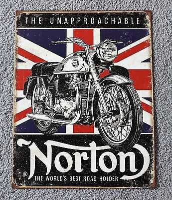 Norton Motorcycle Sign NEW
