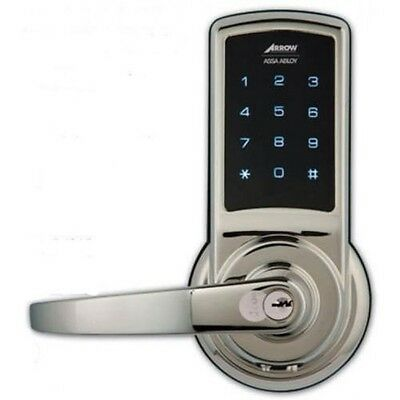 Arrow Revolution Commercial Grade Touchscreen Electronic Lock with Key Override