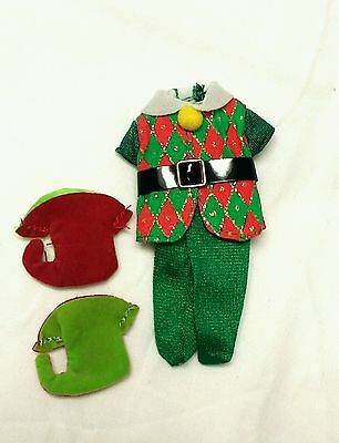 Kelly Tommy Doll Mistletoe Kisses Holiday Christmas Clothes Elf Costume & Boots