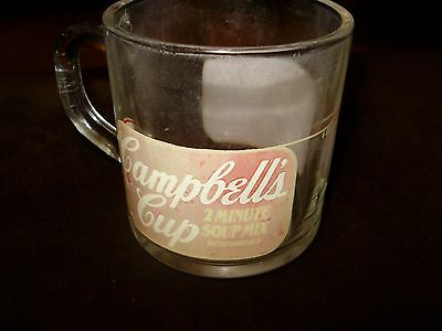 Campbell's Soup Old Advertising Cup