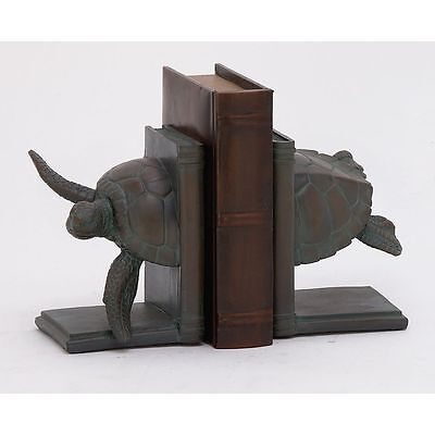 Attractive Turtle Bookend Pair