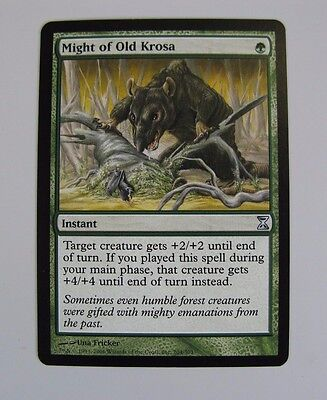 Might Of Old Krosa  / Uncommon  ( Mtg Magic The Gathering )
