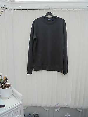 Rohan 'Gridlock' Mens Size M Charcoal Grey Long Sleeve Hiking/Walking Top