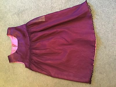 Girls pink purple party dress from Avon age 2-3 years