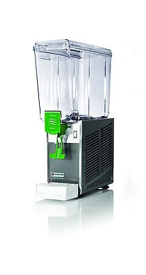 New Commercial Beverage Dispenser 1 tank, 5 gal,All S/S Base Made in Italy, NSF