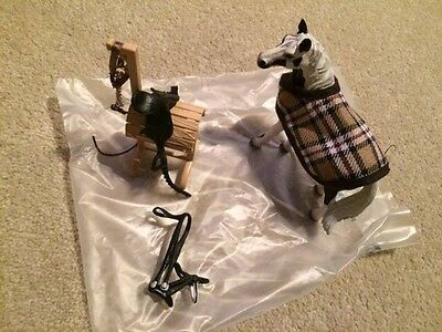 Schleich horses  and accessories as a package